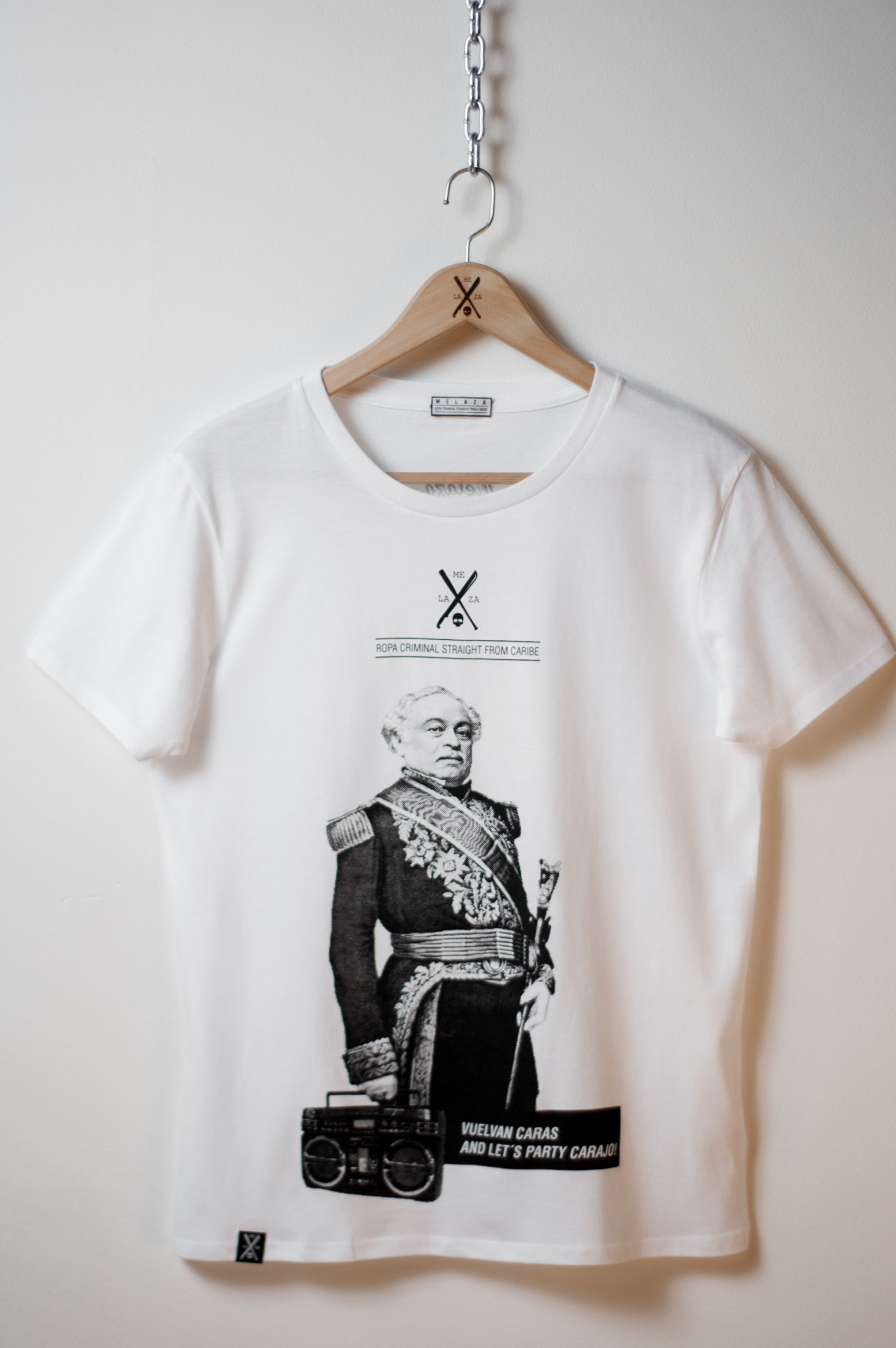"Camiseta ""Vuelvan Caras"""