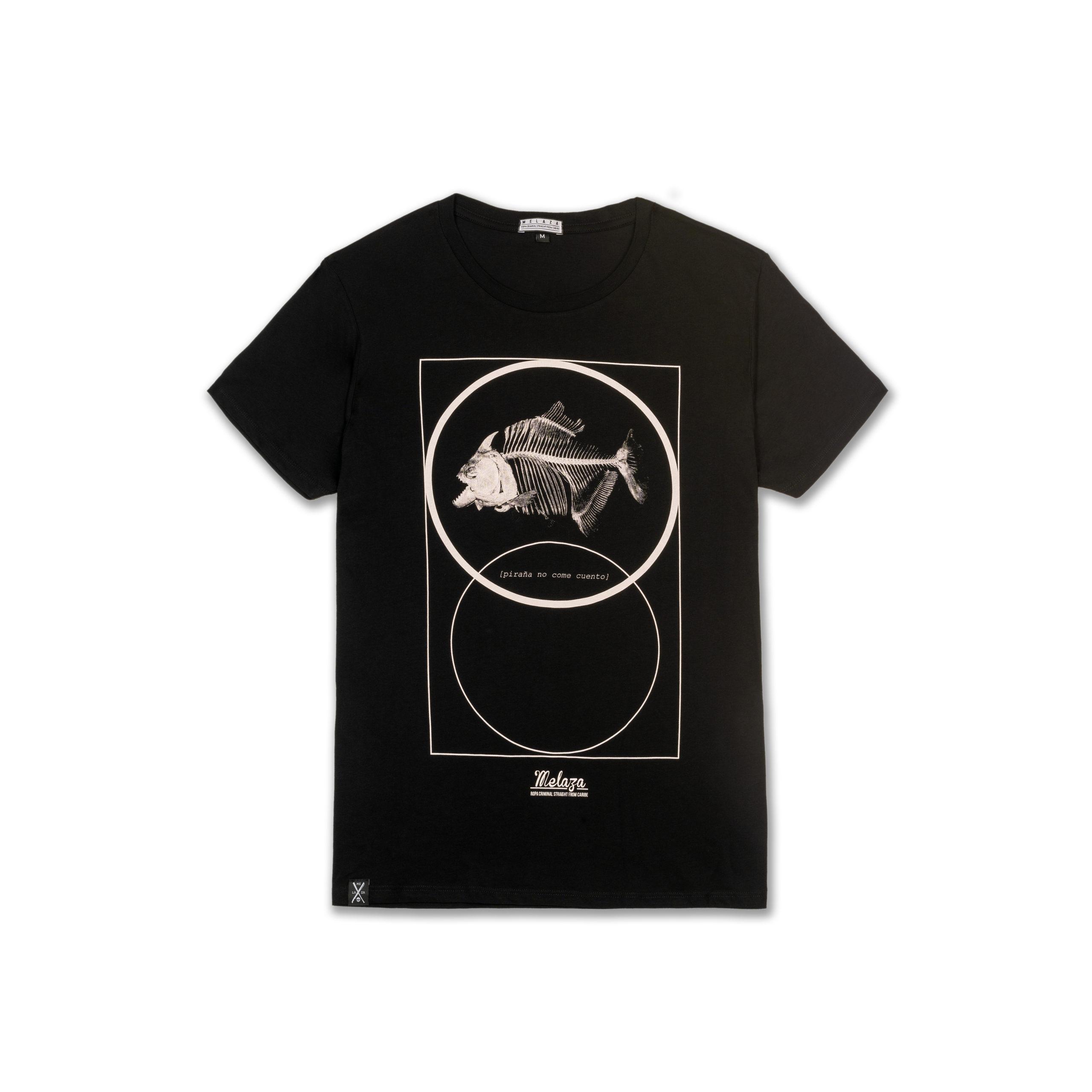 """Camiseta """"Piraña No Come Cuento"""""""